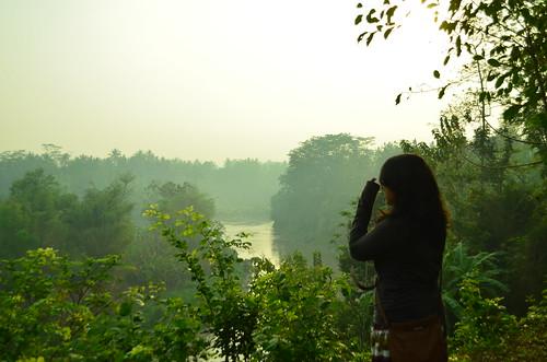 Silence near Borobudur