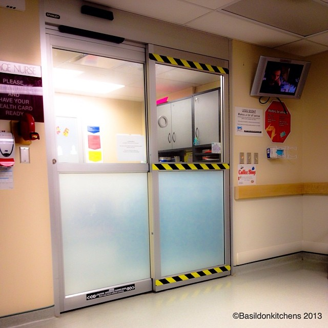 Nov 22 - behind {waiting to get behind these doors for test results}  #fmsphotoaday #tests #hospital #gettingbetter