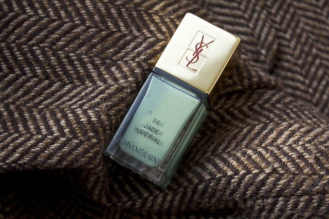 12 YSL Jade Imperial swatches