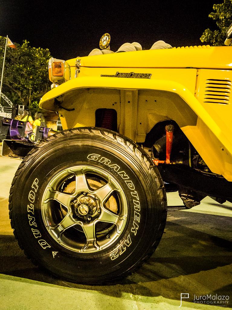 Toyota Land Cruiser. - Dagupan City Fiesta Auto Show 2013 - Juro Malazo