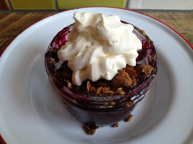 Mixed berry pie in a jar - Chile Pies