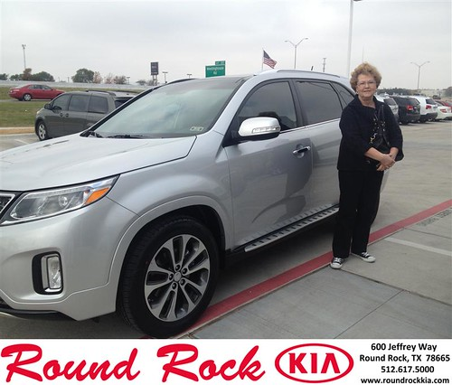 Thank you to Lenora  Weaver on your new 2014 #Kia #Sorento from Bobby Nestler and everyone at Round Rock Kia! #NewCarSmell by RoundRockKia