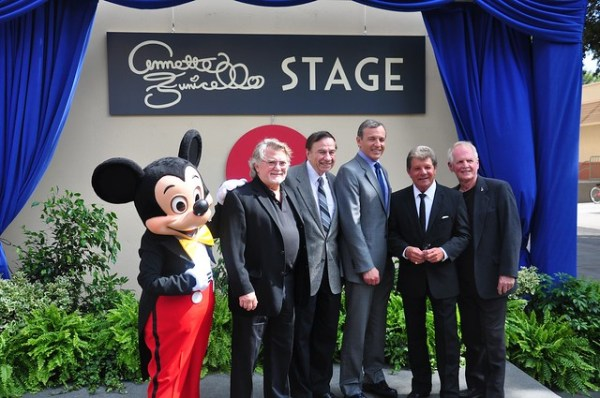 Annette Funicello stage dedication at Walt Disney Studios