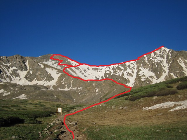 Grays and Torreys Route