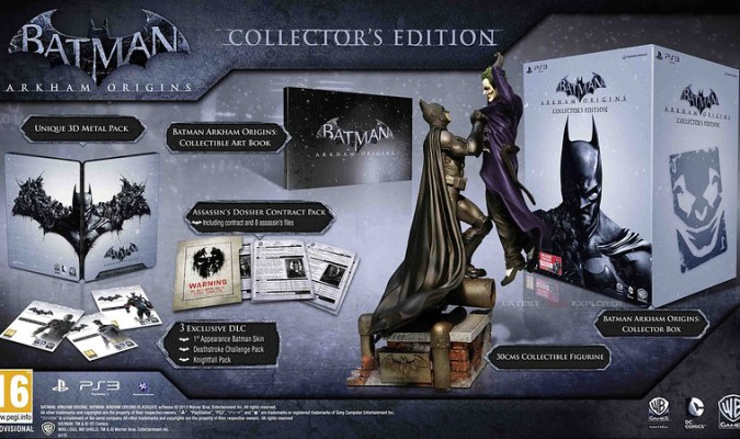 Batman: Arkham Origins Collector's Edition