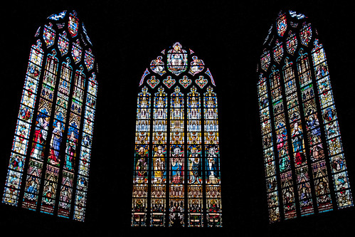 Church of St. Salvador Stained Glass, Bruges