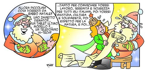 Italia-Claus by Moise-Creativo Galattico