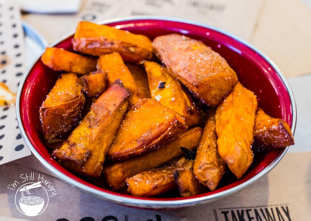 Chur Burger sweet potato fries