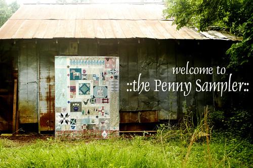 Penny Sampler Welcome
