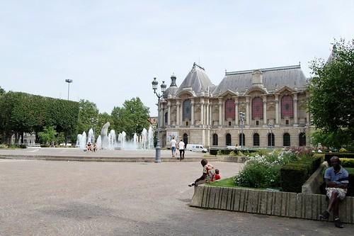 Lille, Place de la République, Palais des Beaux-Arts