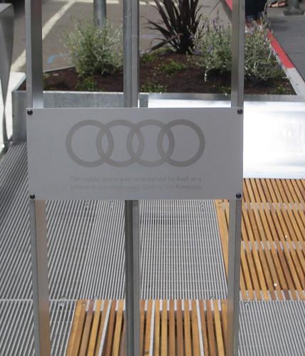 Parklet-Audi