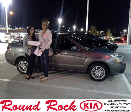 Thank you to Shari Stewart on your new 2011 #Ford #Focus from Eric Armendariz and everyone at Round Rock Kia! #NewCarSmell by RoundRockKia