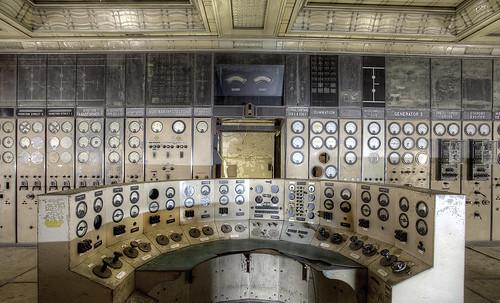 'Control desk'