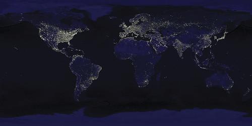 #holzvonhier NASA Bild der Erde-2