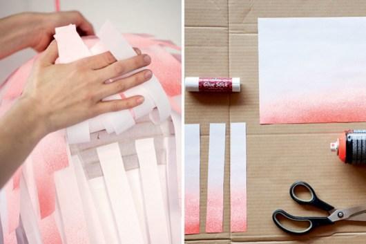 DIY: Creative Paper Lamps
