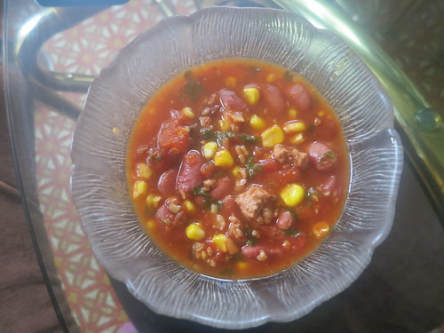 Corn and chipotle chili