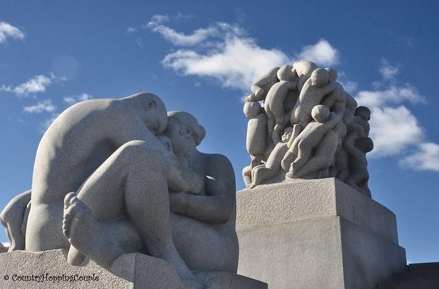 Vigeland Sculpture Park Oslo_10