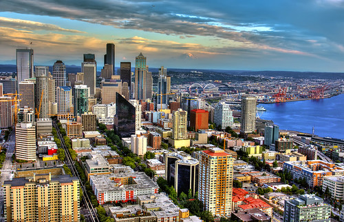 Downtown Seattle - HDR