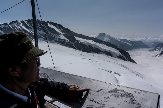 Jungfraujoch - Mountain Spotting