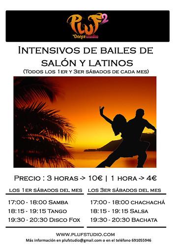 Intensivos de bailes de salón y latinos