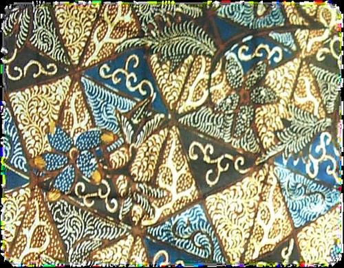 Batik Belah Ketupat
