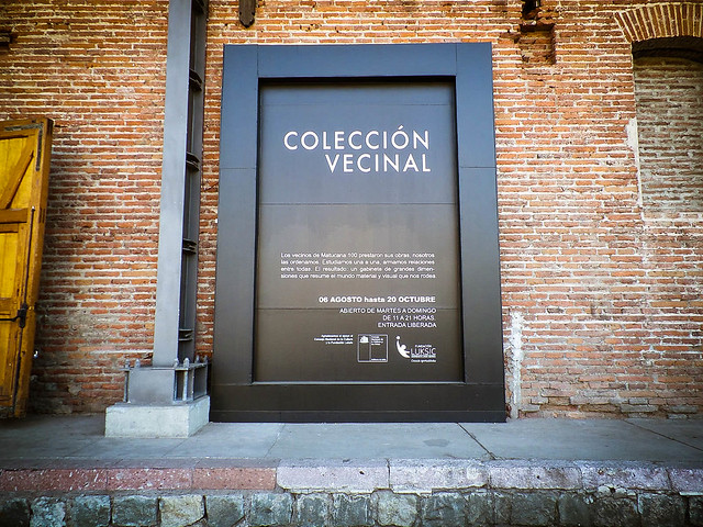 """Registro exposición """"Coleccion Vecinal"""" en @Matucana100  - 15.10.2013"""