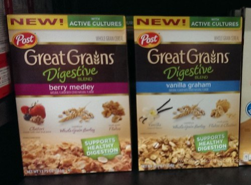 Post Great Grains Digestive Blend Cereal