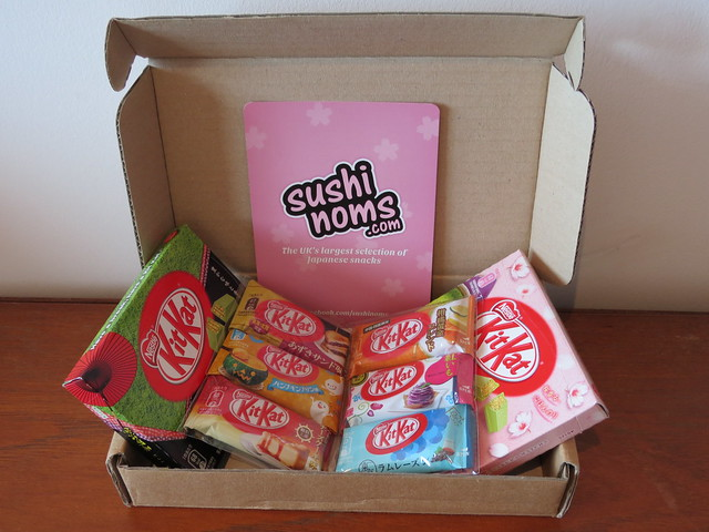 Japanese Kit Kats from sushinoms.com