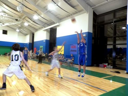 Mason Bird Plays Basketball