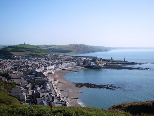 View from Constitution Hill, Aberystwyth, West Wales