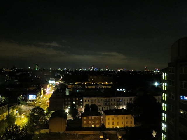 Views of London from the Ibis Earls Court