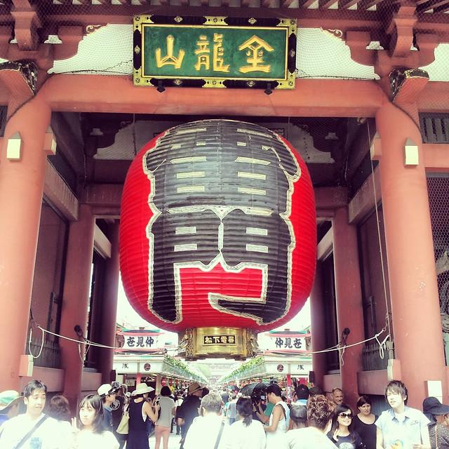 Fotos del viaje a jap n 2013 en instagram vol 2 todo for Puerta kaminarimon