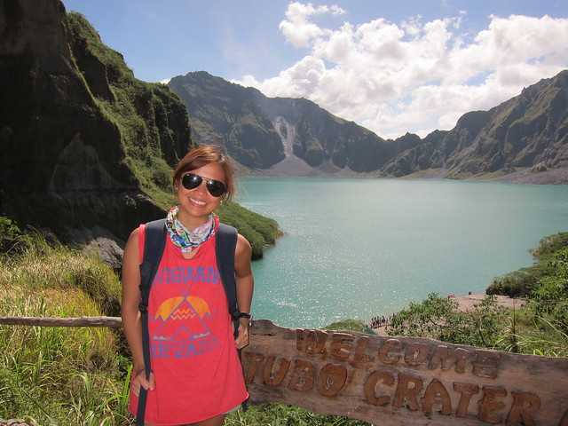 Trekking to Pinatubo's Crater 2012