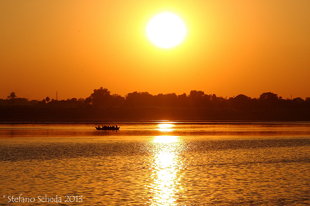 Ganges sunset - Allahabad, India