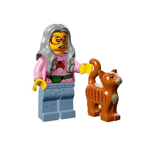 The LEGO Movie Minifigures Mrs Scratchen-Post