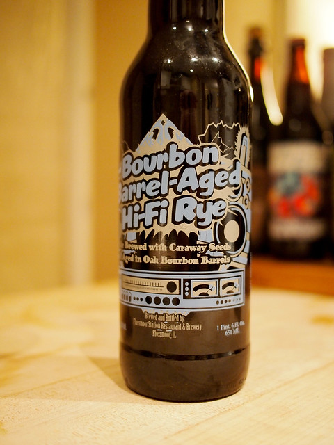 Flossmoor Station Bourbon Barrel-Aged Hi-Fi Rye Wine