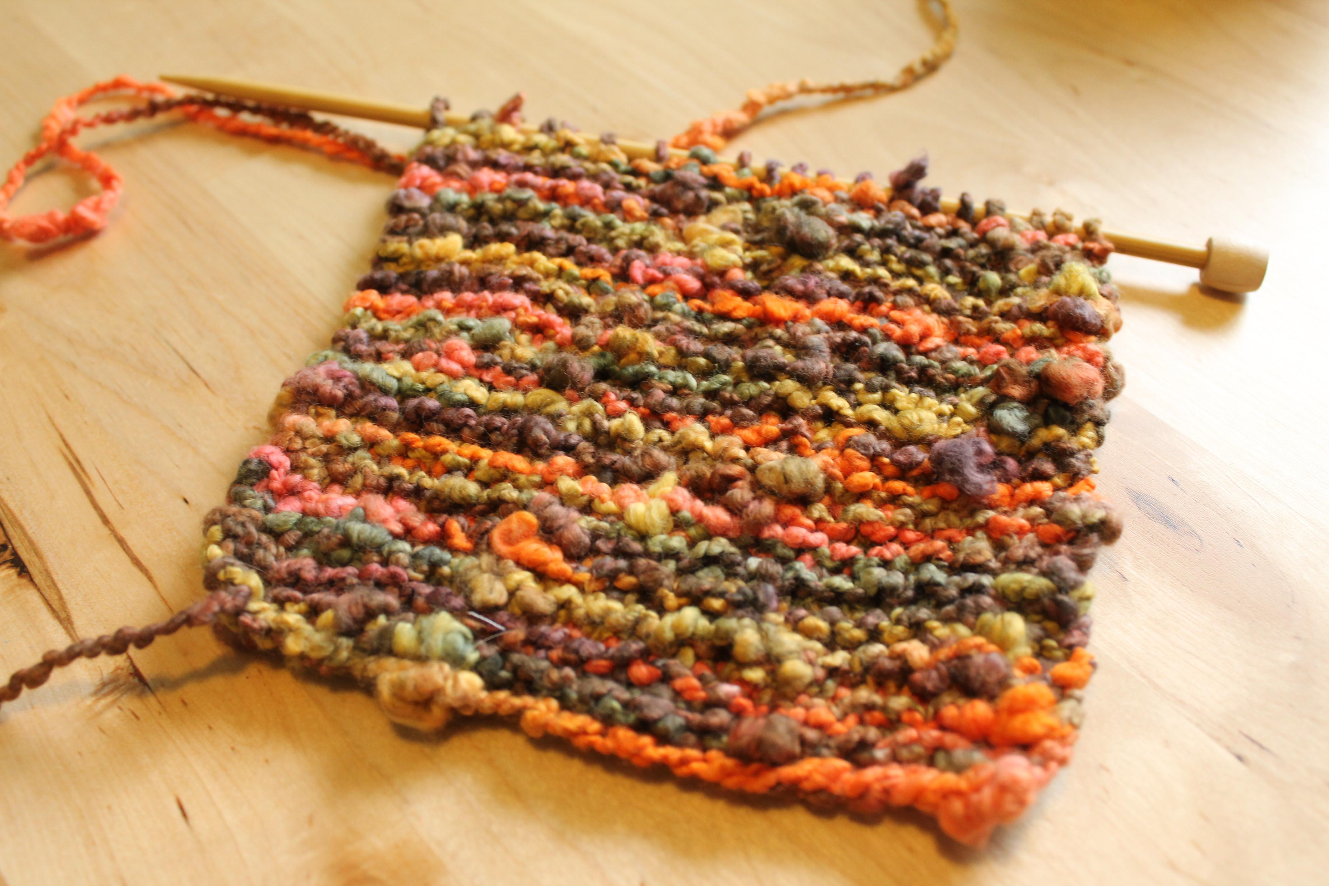 Lacy Keyhole scarf- Craftsy