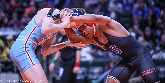 152AA - 1st Place Match - Anthony Jackson (Simley) 21-0 won by decision over Zach Glazier (Albert Lea Area) 41-5 (Dec 5-3)