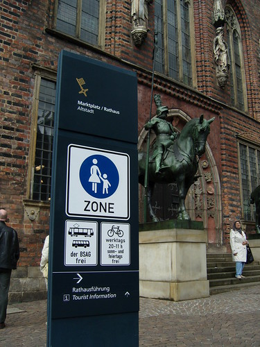Bremen shared ped zones