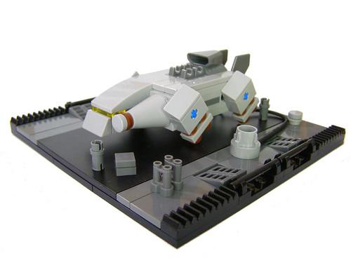 Micro Space Cargo Ship