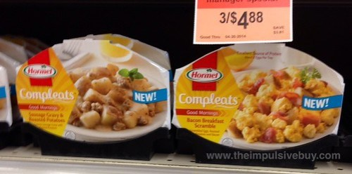 Hormel Compleats Good Mornings