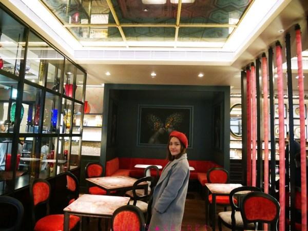 Caffé Florian福里安花神咖啡館 店內裝潢