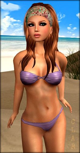 AS Beach Babe Purple Bikini