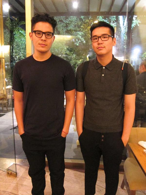 Mano Lotho and Raymond Ang