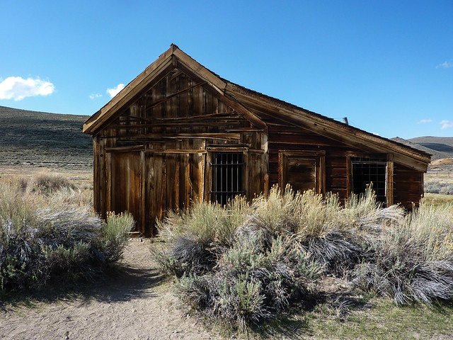 Prison, Bodie Ghost Town, California