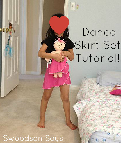 Girl and Doll Dance Skirt Set - Swoodson Says