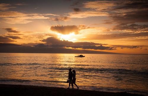 Ka'anapali Beach Sunset