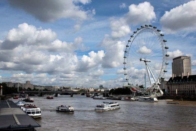 Themsen i London