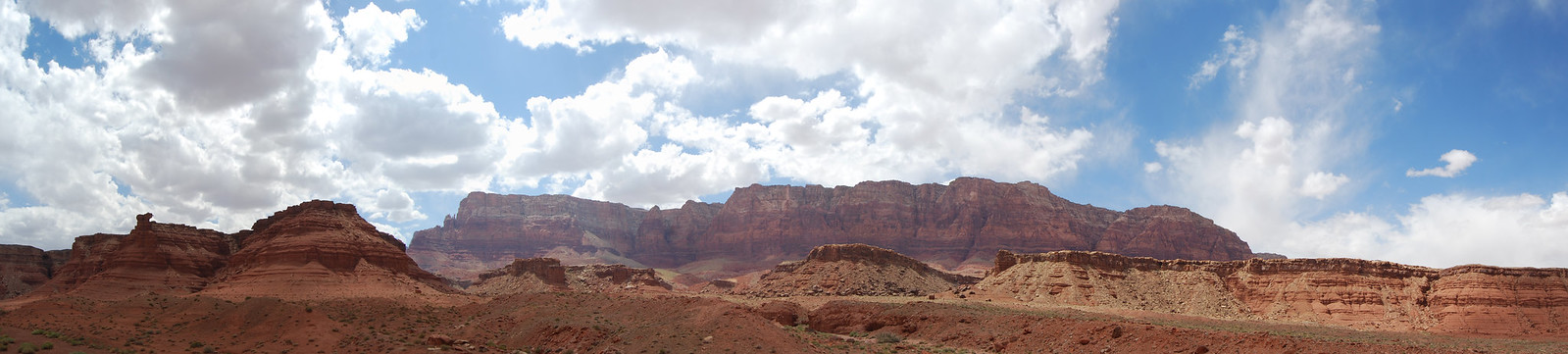 Scenery at Vermilion Cliffs and Lee's Ferry