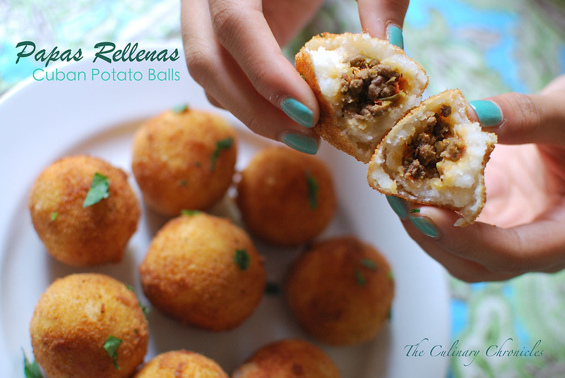 Papas Rellenas - Cuban Potato Balls